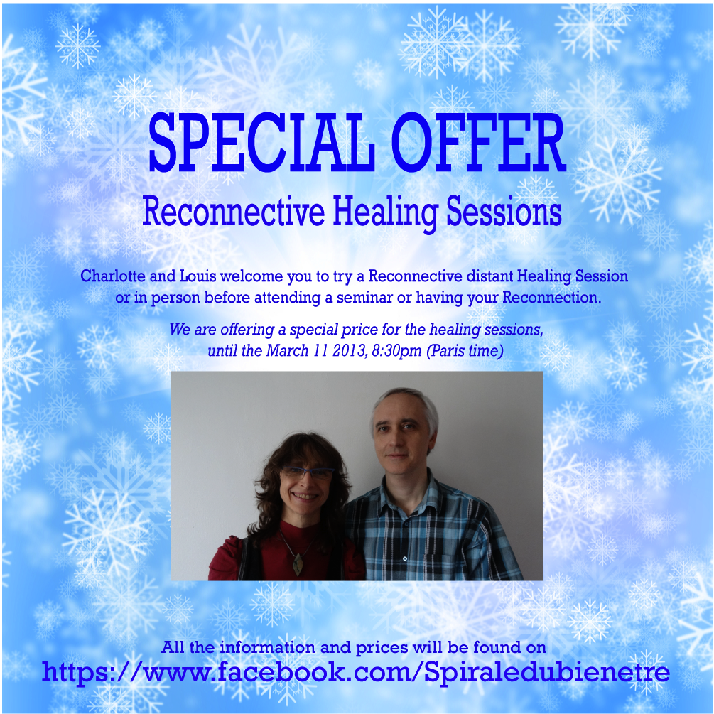 Special Offer - Reconnective Healing